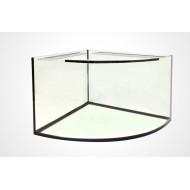 Аквариумы угловые с выгнутым стеклом
