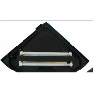 Крышки-светильники STYLE для углового аквариума